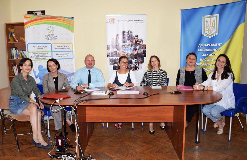 В Ужгороді обговорили питання розвитку системи надання послуг особам з інвалідністю (ФОТО), фото-2