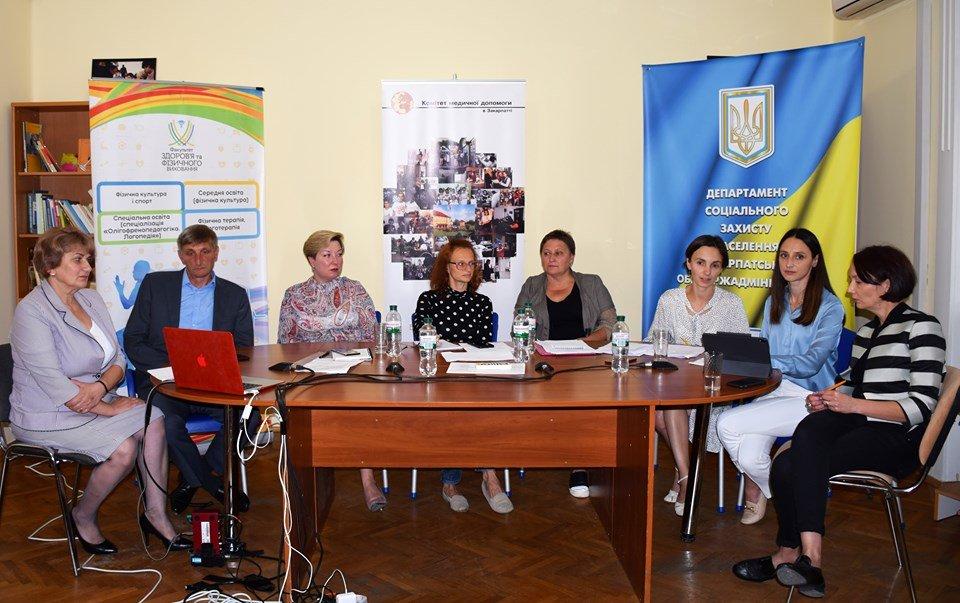В Ужгороді обговорили питання розвитку системи надання послуг особам з інвалідністю (ФОТО), фото-1