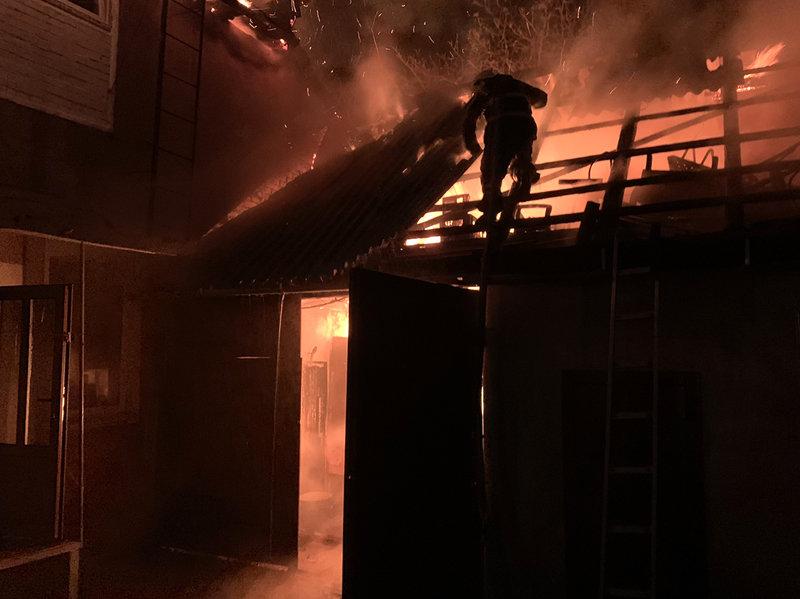Вночі у м. Хуст горів будинок: вогнеборцям вдалося локалізувати та ліквідувати пожежу (ФОТО), фото-2
