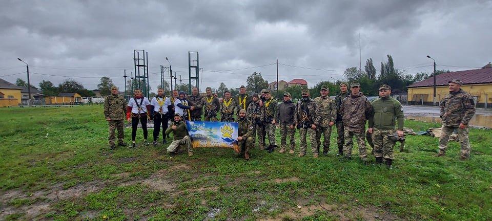 В Ужгороді пройшли змагання присвячені Дню захисника України (ФОТО), фото-8