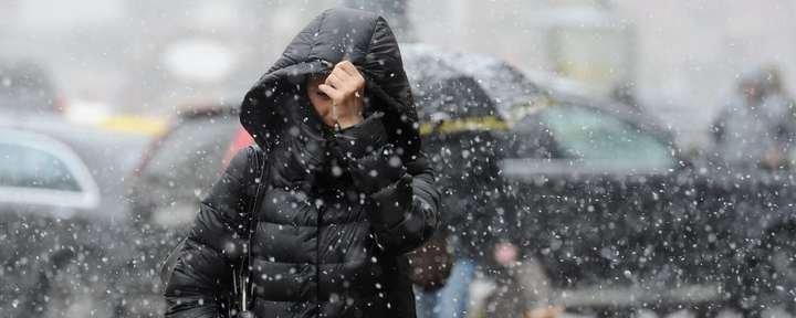 На Закарпатті в горах йде мокрий сніг , фото-1