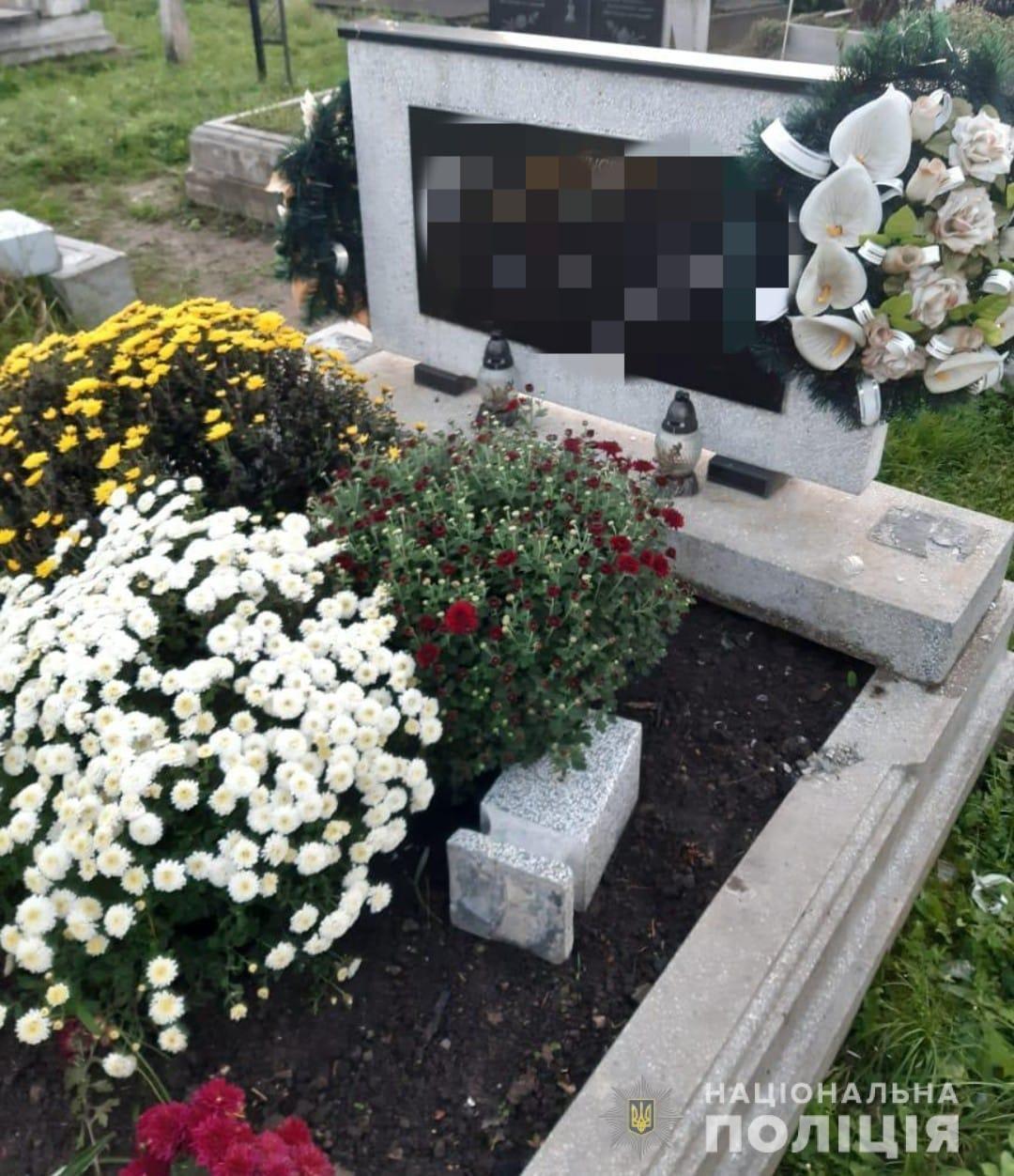 Вандали нищать могили на кладовищі (ФОТО), фото-2