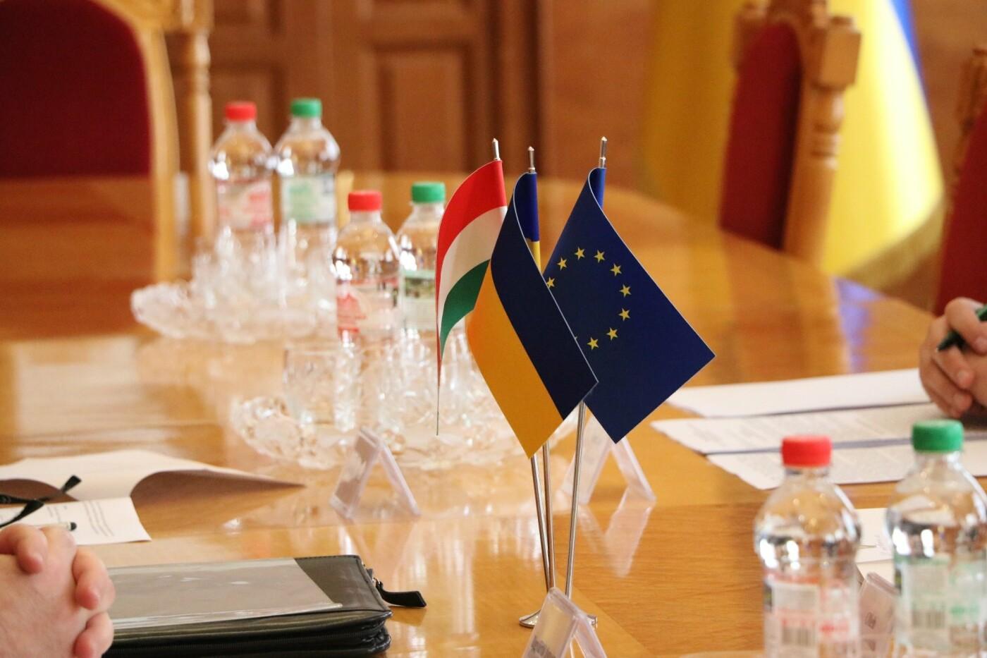 Олег Коцюба зустрівся із надзвичайним послом Угорщини в Україні Іштваном Ійдярто, фото-2