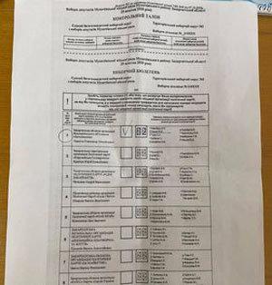 """Мукачівка прийшла на виборчу дільницю зі """"своїм"""" бюлетенем (ФОТО, ВІДЕО), фото-1"""