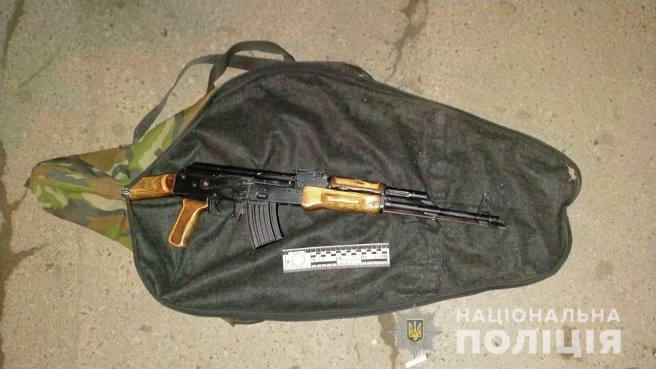 Озброєного ужгородця затримала поліція (ФОТО), фото-2