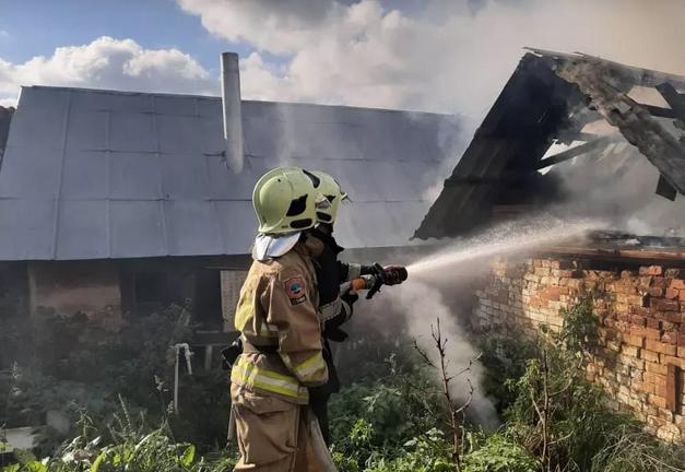 На Виноградівщині спалахнула пожежа: вогнеборці врятували будинок пенсіонерки, фото-2