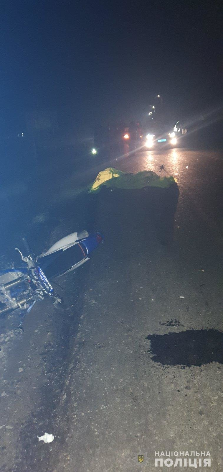 Смертельна ДТП на Закарпатті: 19-річний мотоцикліст збив жінку (ФОТО), фото-1
