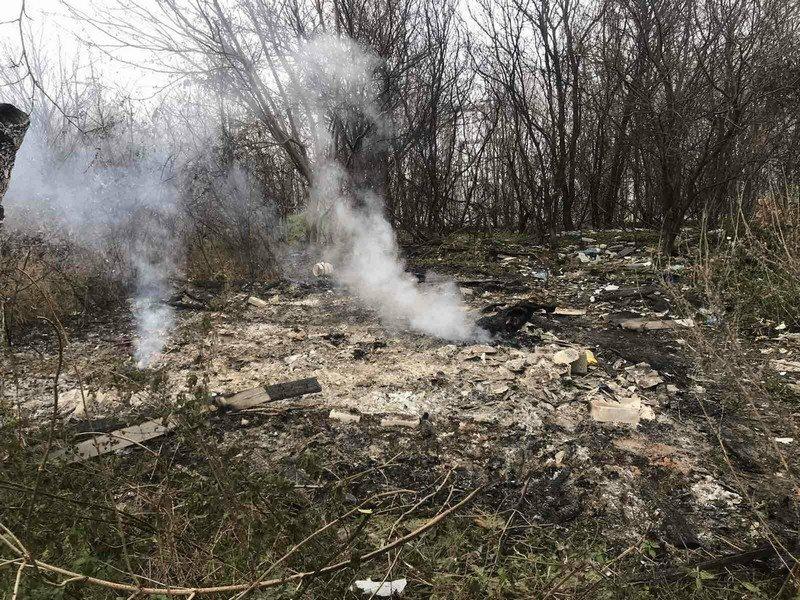 На Закарпатті перехожі виявили обгорілий труп людини (ФОТО), фото-1