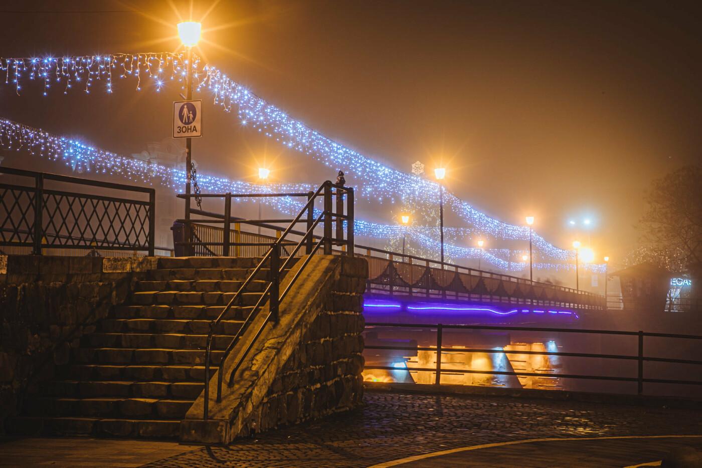 Оповитий туманом: в мережі показали світлини вечірнього Ужгорода (ФОТО), фото-3
