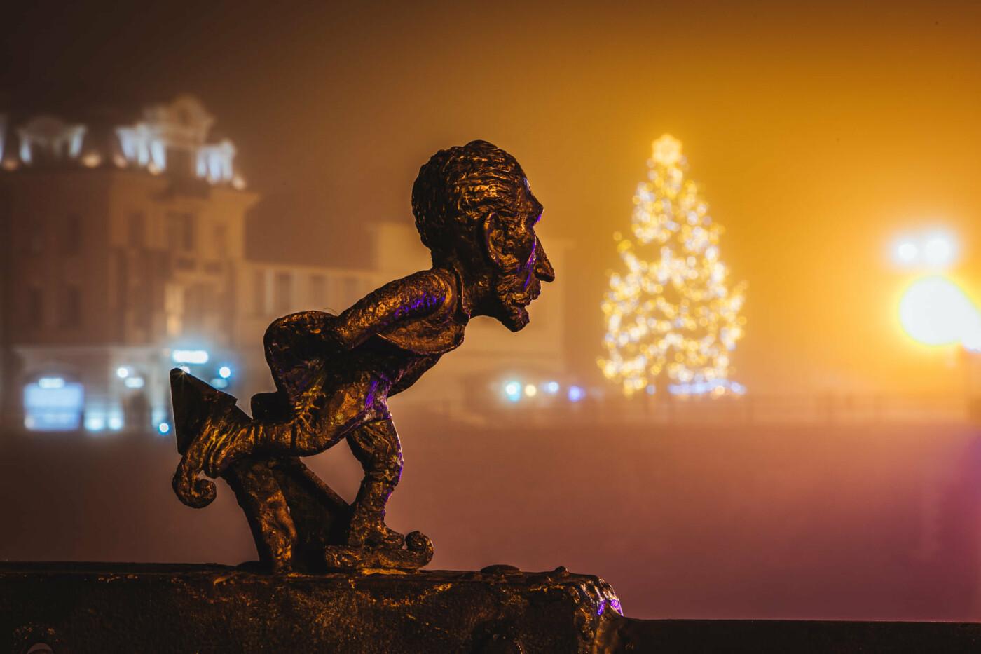 Оповитий туманом: в мережі показали світлини вечірнього Ужгорода (ФОТО), фото-5