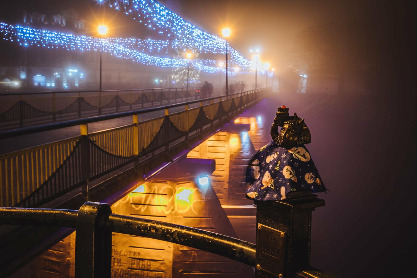 Оповитий туманом: в мережі показали світлини вечірнього Ужгорода (ФОТО), фото-8