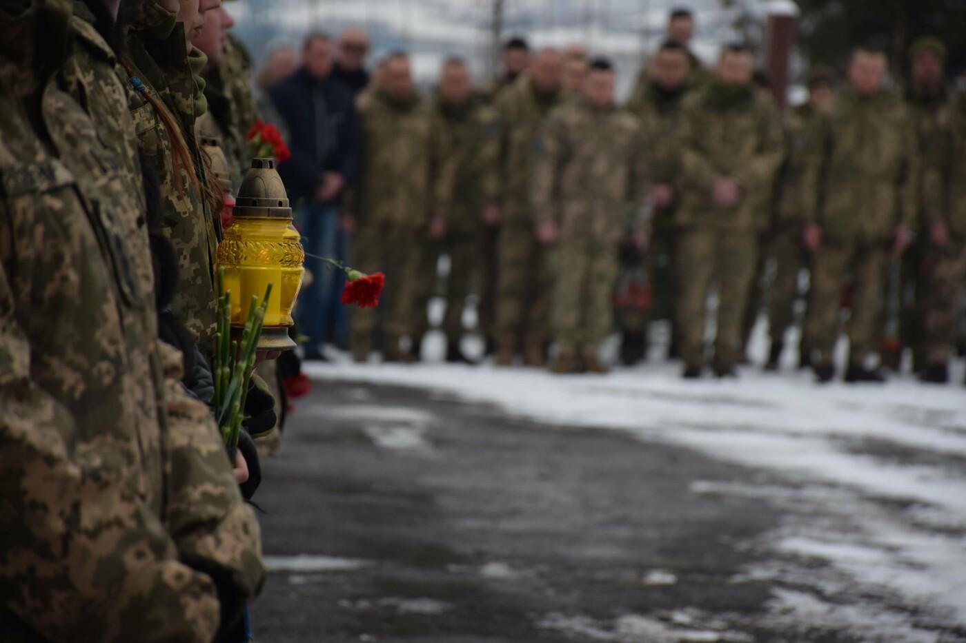 На Закарпатті вшанували пам'ять бійців, загиблих у Дебальцево (ФОТО), фото-1