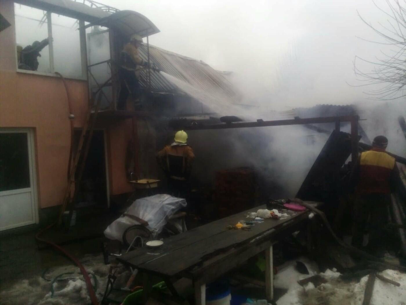 На Ужгородщині вогнеборці ліквідували пожежу (ФОТО), фото-1