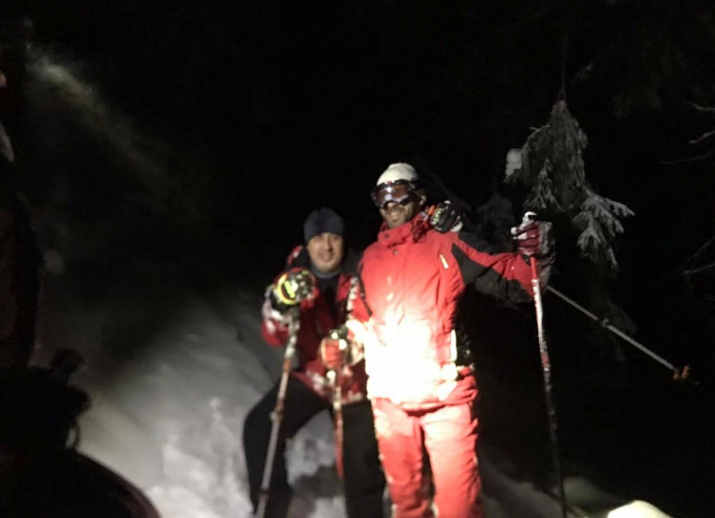 На Рахівщині рятувальники розшукали двох заблукалих лижників (ФОТО), фото-3