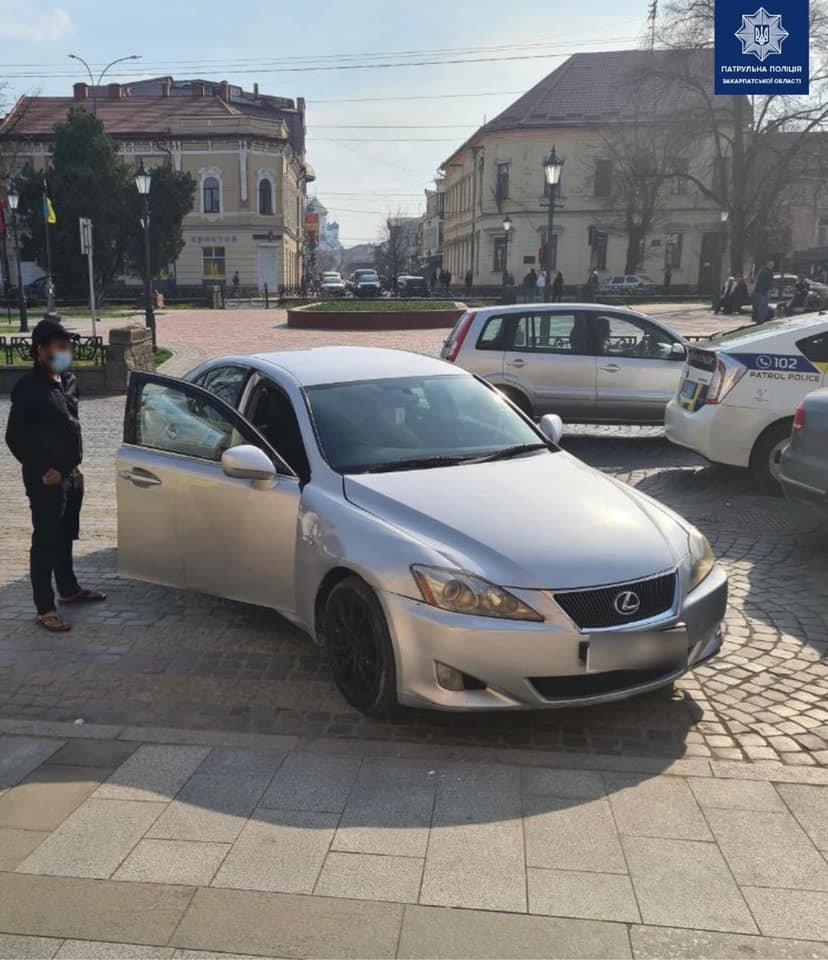Facebook / Управління патрульної поліції у Закарпатській області