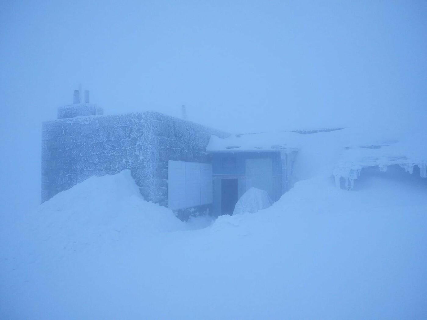 Зима не відступає: на горі Піп-Іван у суботу вранці зафіксували  - 6°, фото-1