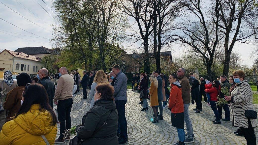 Вербну неділю святкують віряни східного обряду в Ужгороді, фото-1