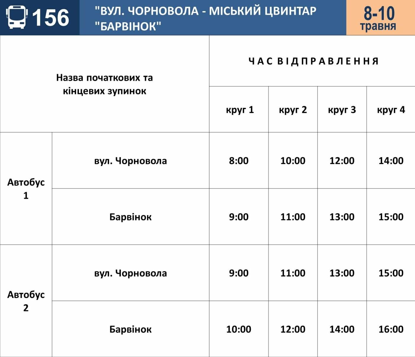 До поминальних днів в Ужгороді збільшать кількість автобусних рейсів на кладовище, фото-1