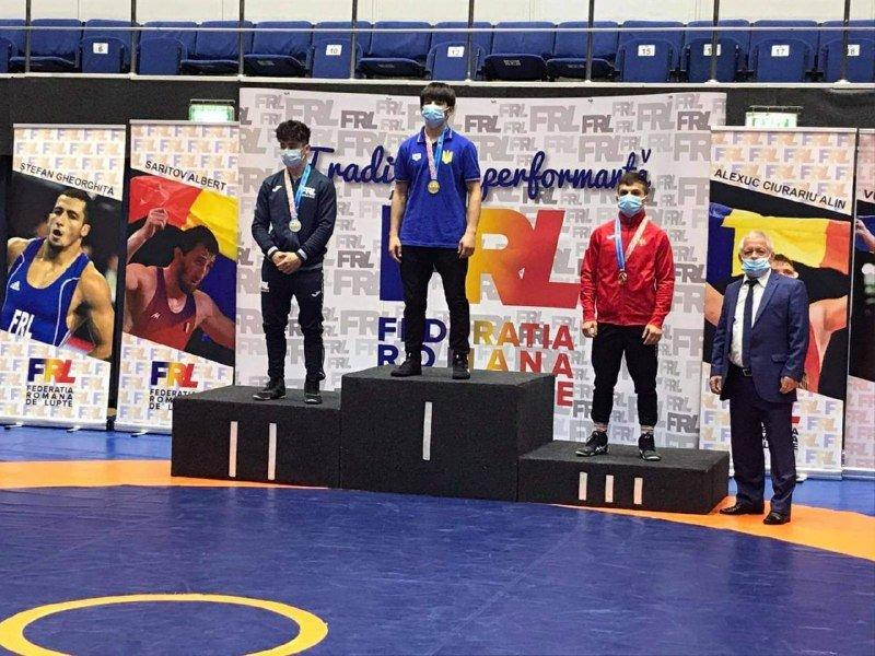 Закарпатський спортсмен здобув «золото» на міжнародному турнірі з греко-римської боротьби (ФОТО), фото-1