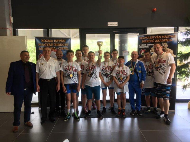 Тячівські борці зайняли ІІ місце на турнірі з греко-римської боротьби в Будапешті, фото-1